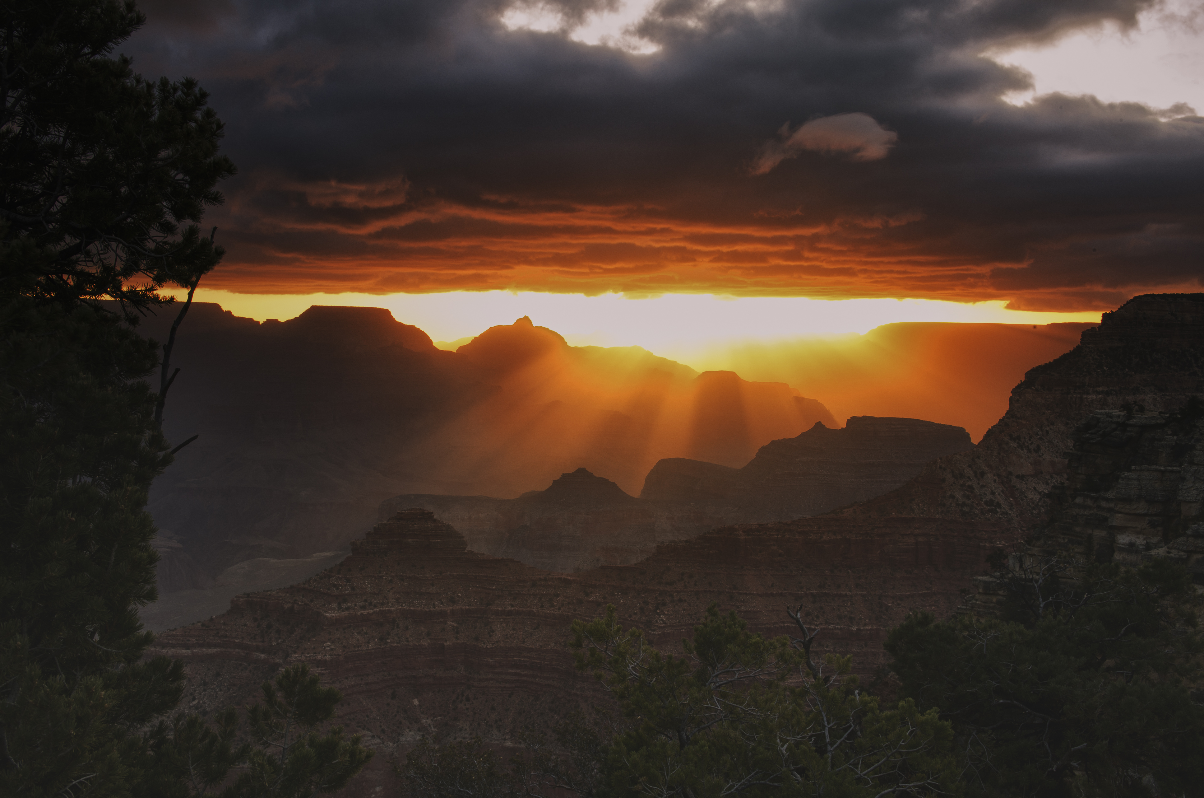 Grand Canyon Explosion