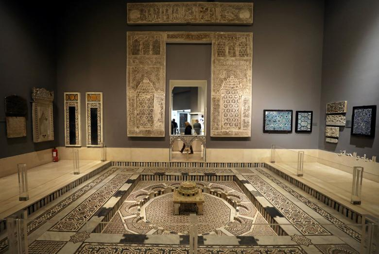 A general view of Egypt's Museum of Islamic Art after two years of restoration work, after it was damaged in a car bomb attack in 2014, in Cairo, Egypt January 19, 2017. Picture taken January 19, 2017. REUTERS/Mohamed Abd El Ghany